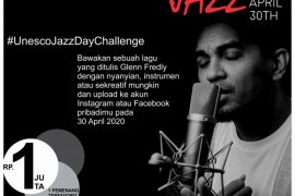 "AMO programkan ""Unesco jazz day challenge"" 30 April"