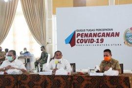 Gubernur Sumut: Awasi penggunaan dana penanganan COVID-19