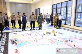 "Polda Jatim gelar ""tactical floor game"" jelang PSBB Surabaya Raya"