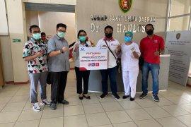 Pertamina - Hiswana migas peduli tenaga medis di Ambon