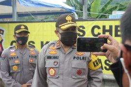 Polda Banten paksa 555 kendaraan mudik menuju Merak putar balik