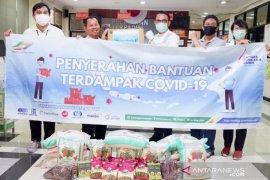 PTPN III kembali bagikan sembako ke warga terdampak pandemi  corona