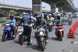Ribuan kendaraan pemudik diminta putar balik