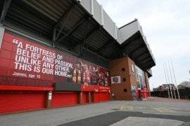 Terkendala pandemi. perluasan stadion Liverpool mundur satu tahun