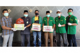 GP Ansor Kapuas Hulu bantu APD Desa Suka Maju