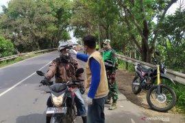 Cek poin PSBB Kota Bandung dijaga selama 24 jam