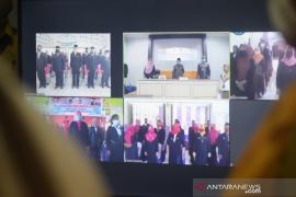 Bupati Gorontalo Utara lantik 85 kepala sekolah melalui video konferensi
