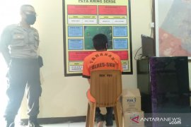 Mantan napi asimilasi di Singkawang nekat curi ponsel di rumah saudaranya sendiri