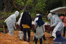 71 jenazah dimakamkan sesuai prosedur penanganan COVID-19 di Pekanbaru