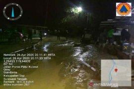 Banjir dua desa di Sigi, 64 jiwa mengungsi