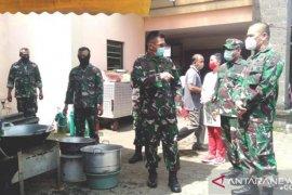 Pangdam Udayana kunjungi dapur umum dan Posko COVID-19 Jembrana