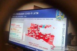 Pasien COVID-19 di Jatim capai 871 orang