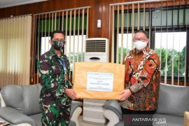 Korem 091/ASN terima bantuan APD dari Buddhist Centre Samarinda