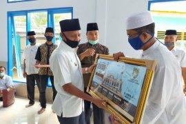 Bupati Asahan berharap masjid bantu tekan penyebaran wabah COVID-19