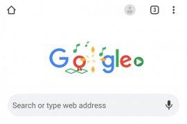Usir bosan lewat game di Google Doodle