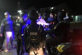 Penertiban konvoi sahur oleh polisi nyaris ricuh
