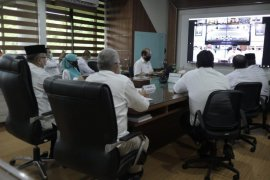 Plt Gubernur pimpin Musrenbang 2021 via video conference