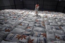 Stok beras hingga akhir tahun diprediksikan 4,7 juta  ton