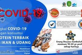 DKP Kukar sosialisasikan gemar makan Ikan cegah COVID-19