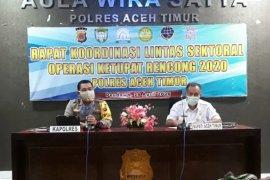Polres Aceh Timur dirikan pos di titik rawan