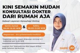 RSUI buka layanan dokter secara online