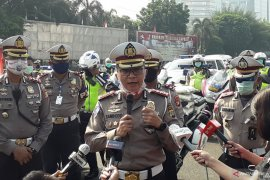 Polda Metro Jaya amankan 15 unit kendaraan travel di Cikarang Barat