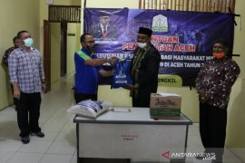 Aceh Singkil terima 3.764 paket bantuan dampak COVID-19