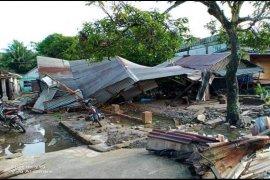 Banjir Kuala Langkat rusak 15 rumah warga