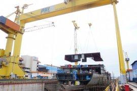 Pembangunan Kapal Bantu RS TNI AL berjalan dengan protokol COVID-19