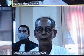 PN Denpasar vonis sukarelawan asal Jepang lima tahun penjara