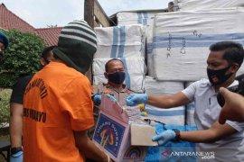 Polres Indramayu gagalkan peredaran 5 juta butir petasan korek