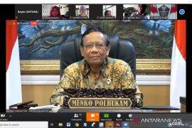 Mahfud MD: Pemerintah sudah proaktif sampaikan informasi publik COVID-19