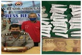 Polisi Sibolga amankan 31 bungkus ganja kering  bersama pengedarnya