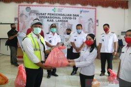 Kabupaten Landak terima 2.518 paket sembako dari Wilmar Group