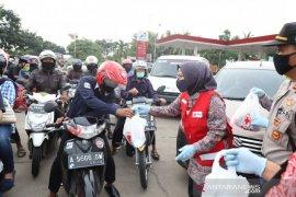 PMI delapan kabupaten/kota di Provinsi Banten kampanyekan disinfeksi mandiri
