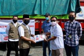 Pertamina dan Hiswana Migas Banyuwangi salurkan bantuan 5 ton beras