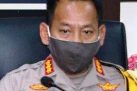 Polrestabes Palembang kawal penerapan karantina warga tak pakai masker