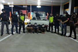 Polisi  angkut pembalap liar di jalan tol Manado-Bitung yang kerap ganggu warga pengguna