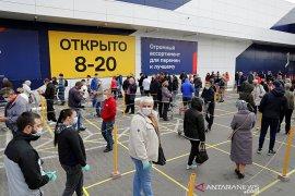 Rusia catat rekor 10.633 kasus baru COVID-19 dalam sehari