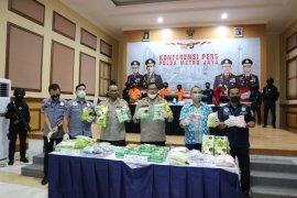Polda Metro Jaya sita 46 Kg sabu dan 65.000 butir ekstasi