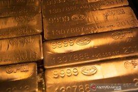 """Emas turun lagi, tertekan penguatan dolar dan pencabutan """"lockdown"""""""