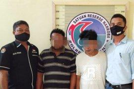 DPO Satresnarkoba Polres Tapteng ditangkap bersama 1 bal ganja
