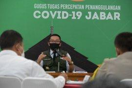 Jawa Barat nol kasus positif COVID-19 pada Jumat