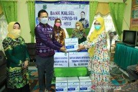Bank Kalsel bantu Dhuafa dan Pensiunan ASN