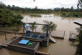 Lima kecamatan di Kabupaten Langkat terdampak banjir