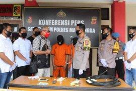 Polisi Majalengka bekuk dua pencuri kabel optik Telkom