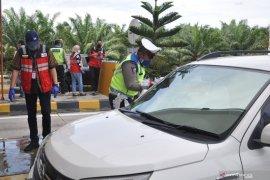 Hutama Karya jalan tol Medan-Binjai imbau masyarakat tidak mudik