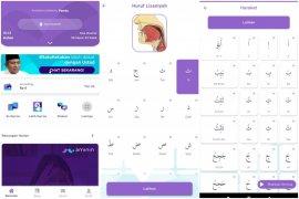 Belajar Al Quran dan hadits di aplikasi Aminin