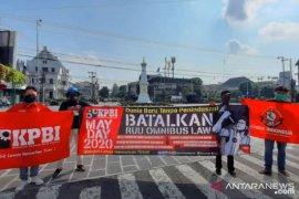 Penolakan Omnibus Law jadi isu utama di Hari Buruh