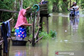 Banjir meluas, 14 desa masih terendam banjir di Aceh Barat
